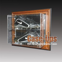 Sports shoes display case