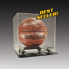 basketball memorabilia case